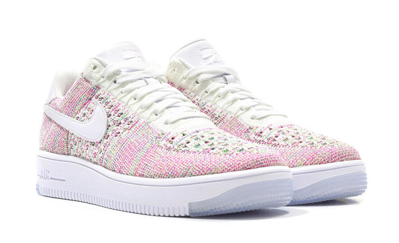 nike damen air force 1 ultra flyknit rosa / pink / weiß