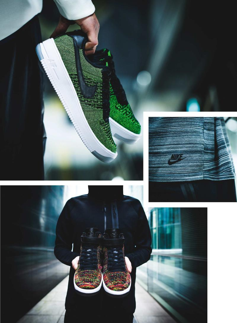 dccf3fb64fa08 Nike Air Force 1 Ultra Flyknit Photo Editorial by Sneakers Magazine |  Complex