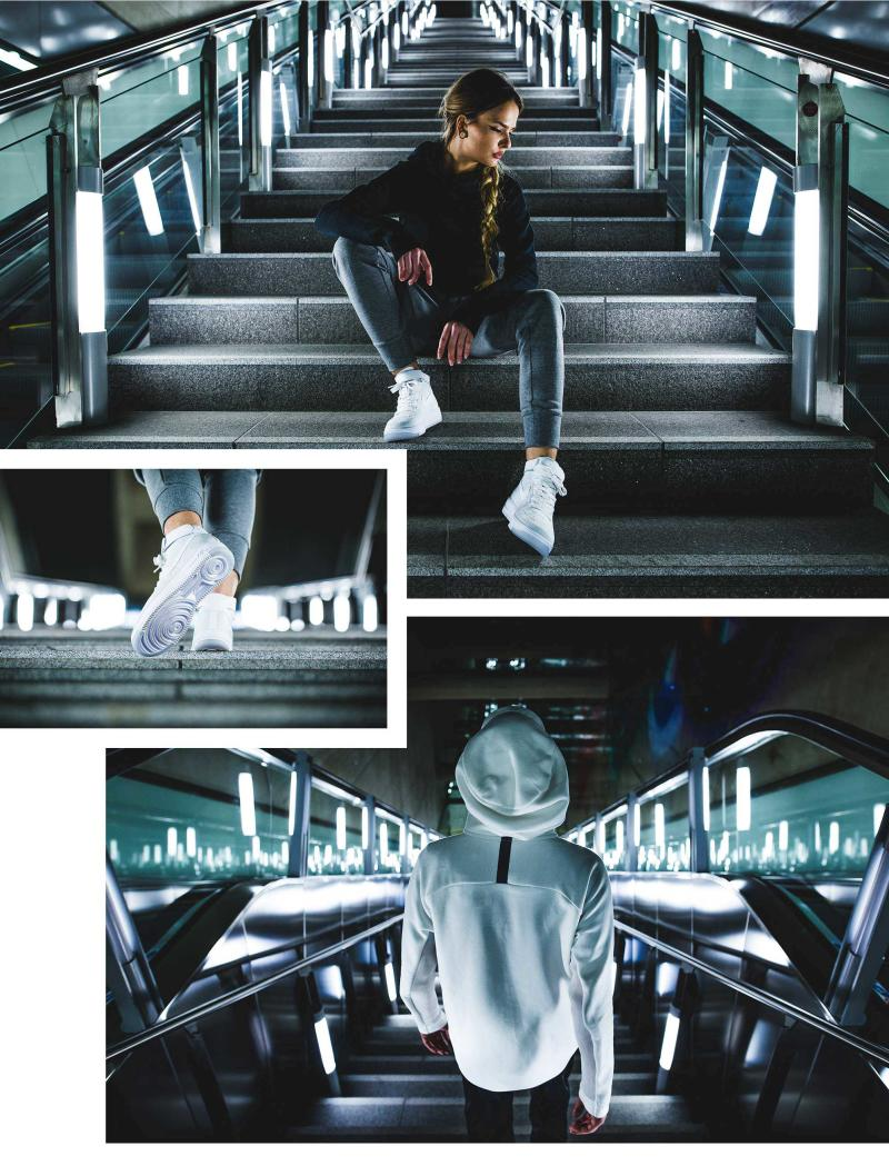 Nike Air Force 1 Ultra Flyknit Photo Editorial by Sneakers