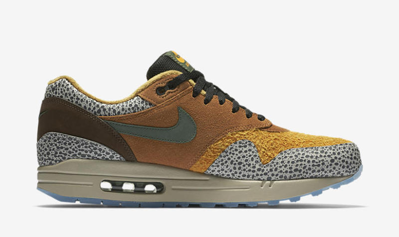 Air Max 1 Yellow Safari