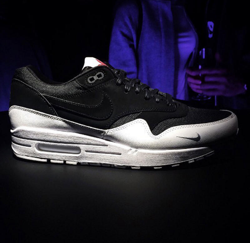 Nike Made a 'The 6' Air Max 1 Celebrating Toronto; Image via  @christinagcheng
