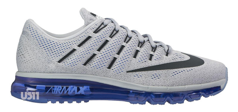 new concept efc6e 303f6 Blue Grey Covers The Nike Air Max 2016