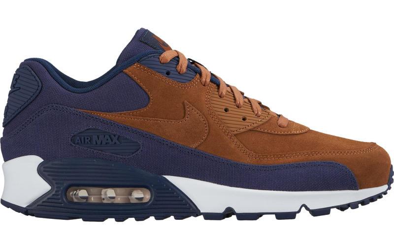 nike air max 90 brown navy