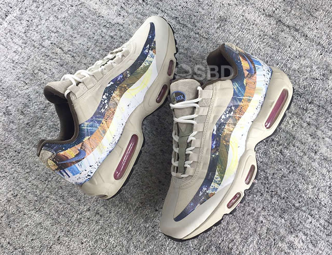 huge selection of e4eb7 7e450 paint splash air max 95 Theres no confirmed date or official info on this  pair yet, but if you cant ...