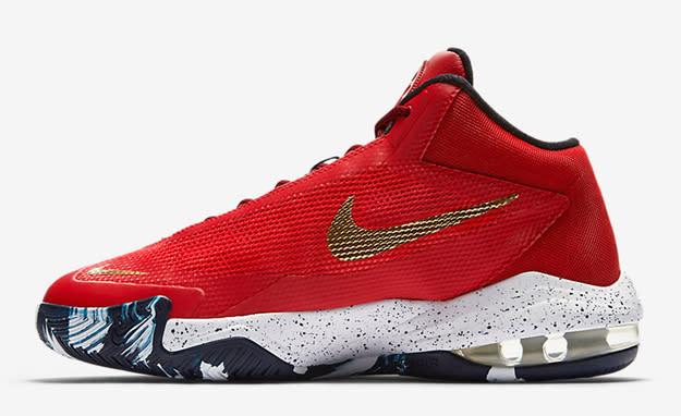 sports shoes fd869 2aefd Image via USA Today SportsTroy Taormina Nike Men Air Max Audacity 2016  Basketball Shoes - Star Blue Metallic Silver ...