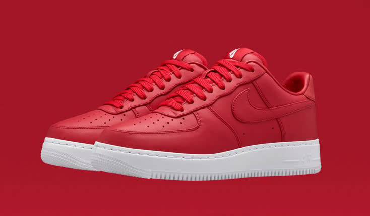red air force 1 lows