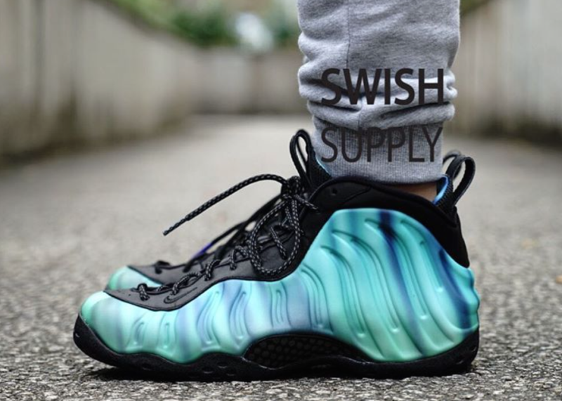 """""""Northern Lights"""" Nike Air Foamposite One On-Feet 