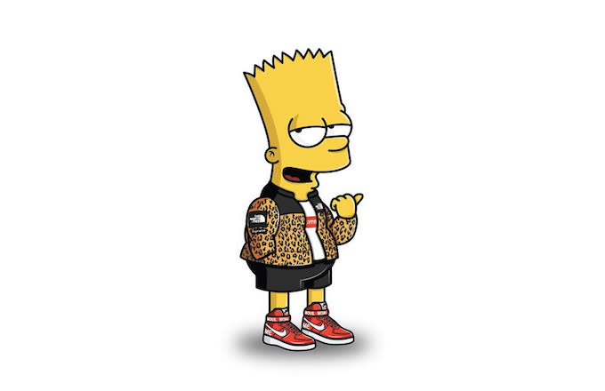 Simpsons Characters Get Streetwear Makeovers in Supreme ...