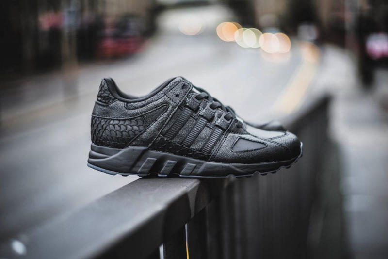 Women Black EQT Boost Shoes adidas UK