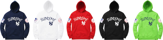 los angeles f2c9c 7bfb5 This Supreme x New York Yankees x '47 Brand Collection Is ...
