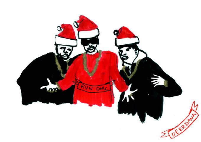 Run Dmc Christmas.There Is Now A Fetty Wap Christmas Card Complex