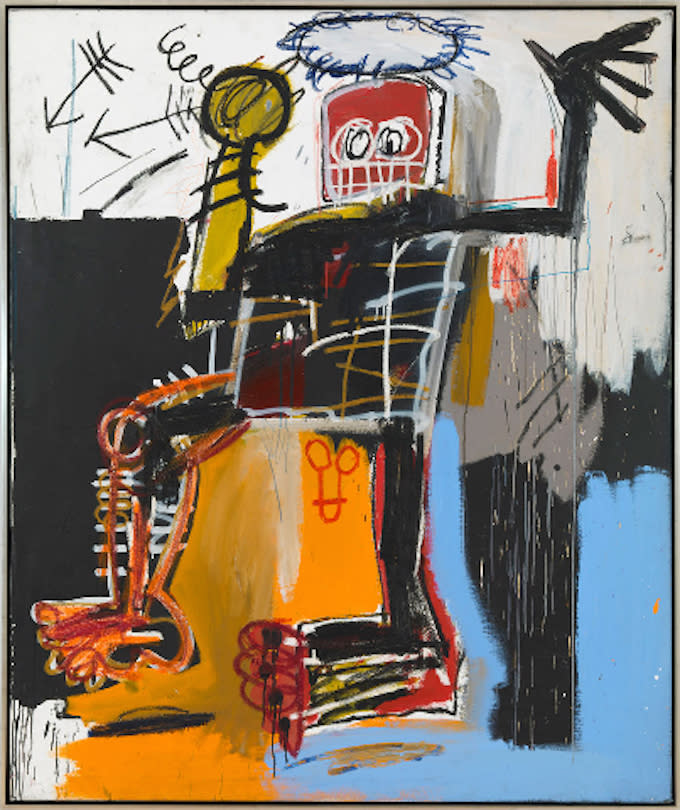 gagosian gallery releases a catalog for the jean michel basquiat exhibition complex. Black Bedroom Furniture Sets. Home Design Ideas