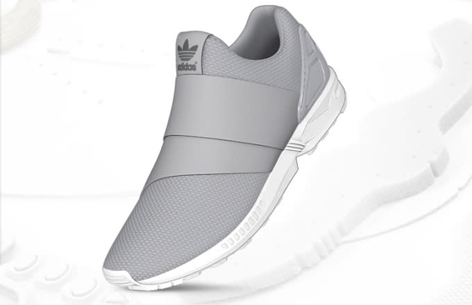 Adidas Flux Slip On Black