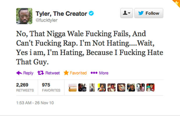 Tyler the creator tweets selena gomez
