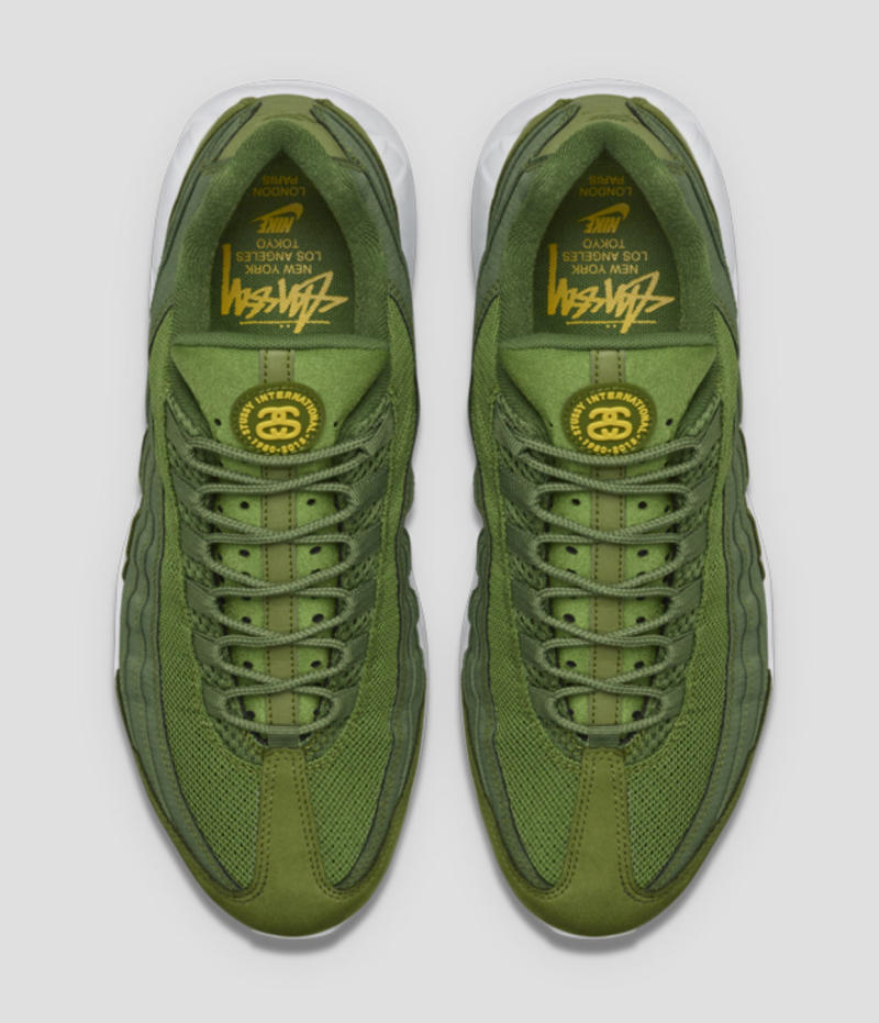 best service 8380b 29274 Stussy x Nike Air Max 95 Official Images | Complex