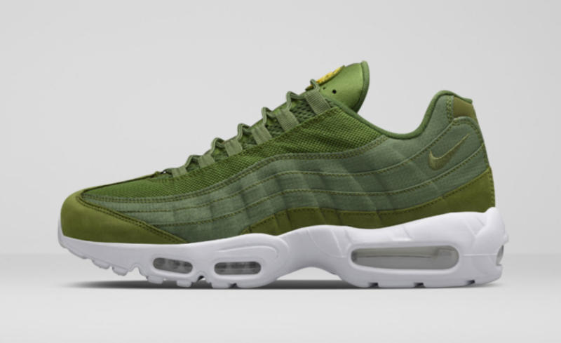 kaki groen air max