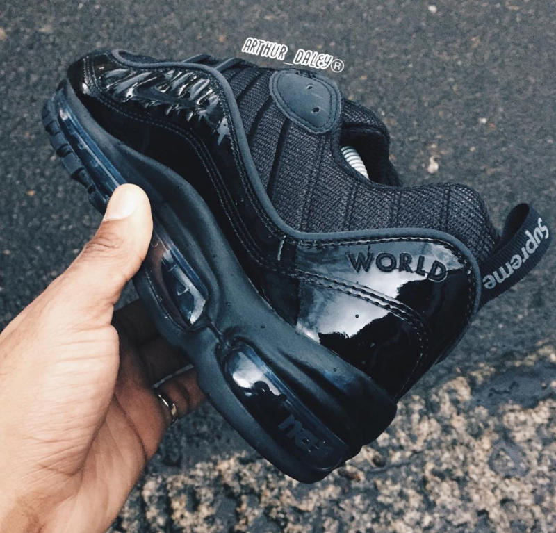 Air Max 98 Black Silver