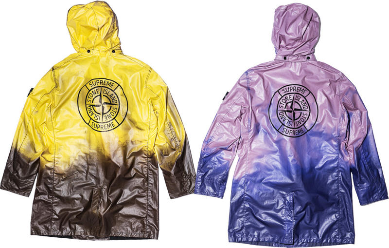 there 39 s another supreme x stone island collaboration on. Black Bedroom Furniture Sets. Home Design Ideas