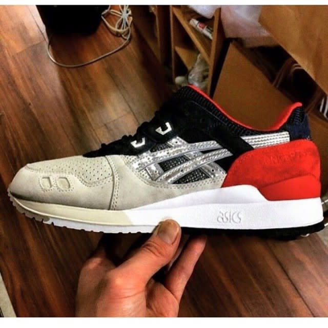 asics gel-lyte iii 25th anniversary x a few