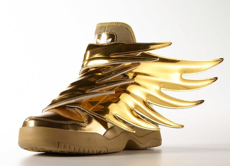 adidas jeremy scott wings gold