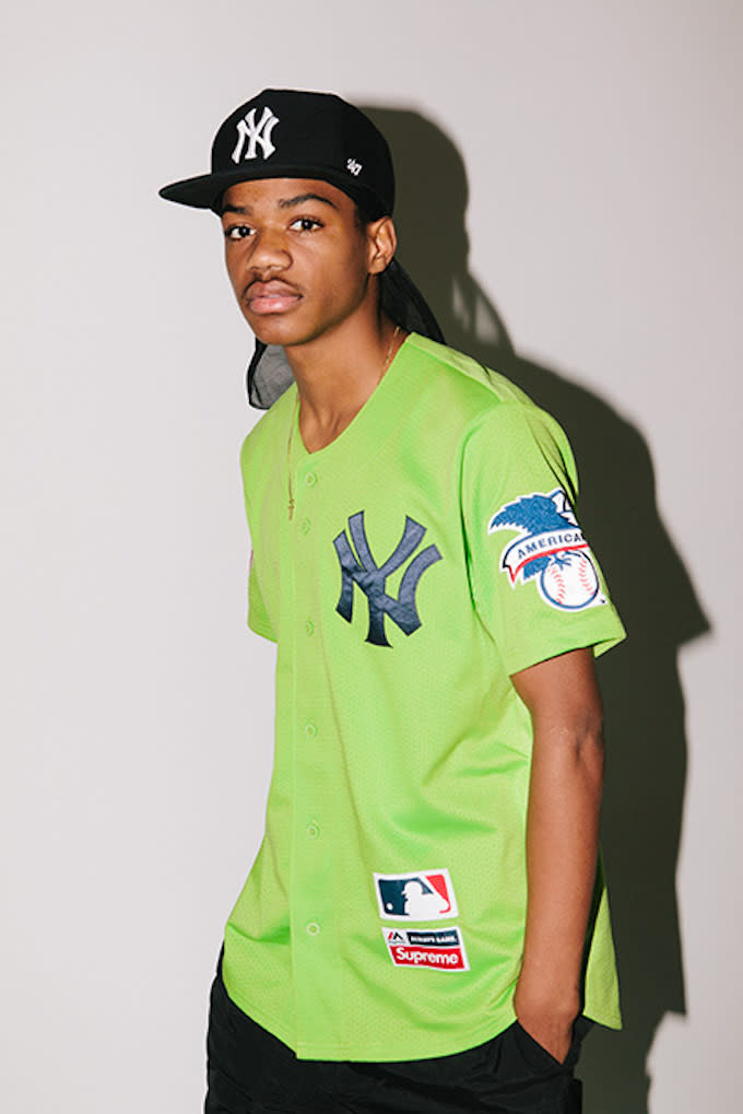 newest 7eff4 e3f7d green new york yankees jersey