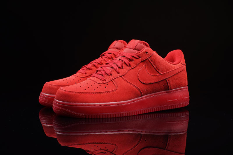 red low top air force 1