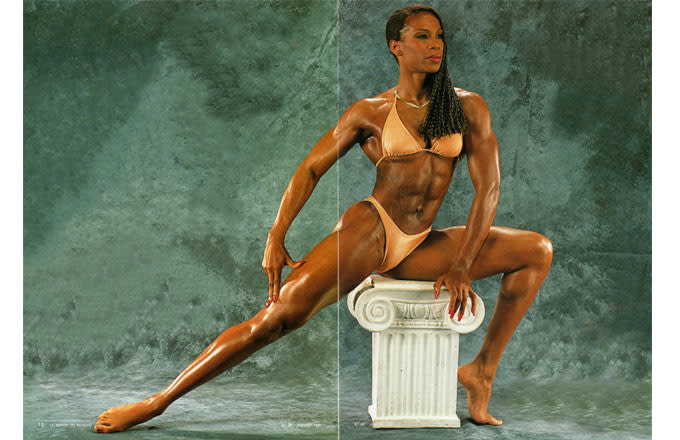Black female american gladiators nude actually