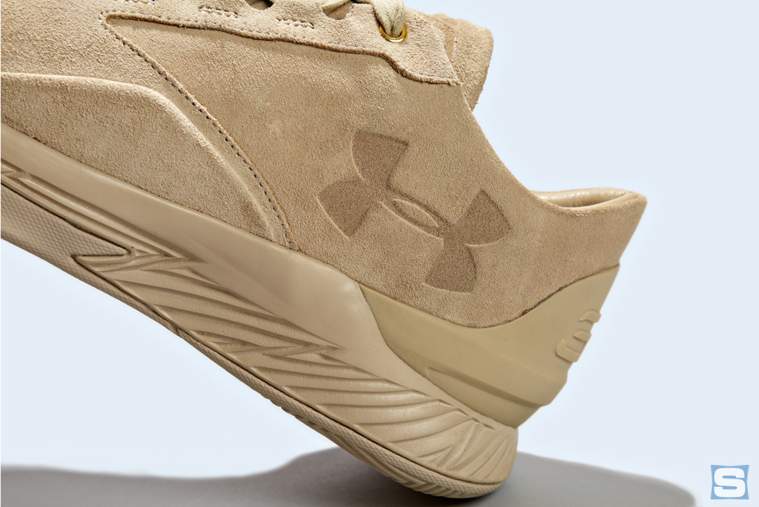 Under Armour Curry Lux Tan Detail