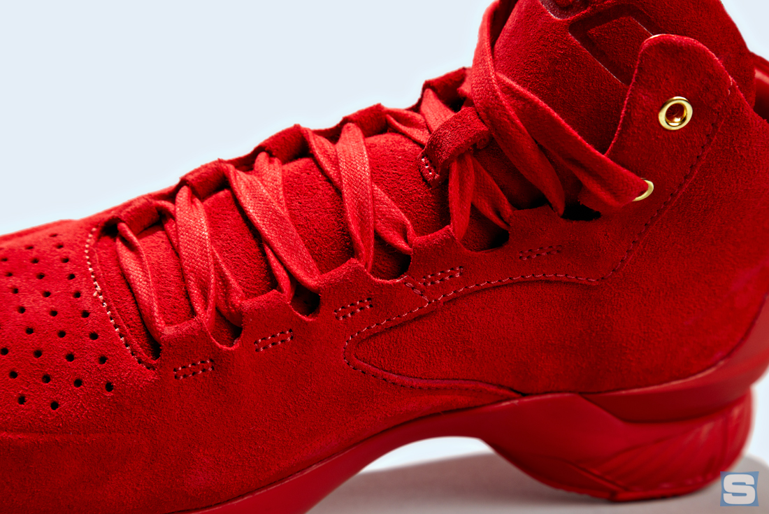 Under Armour Curry Lux Triple Red Detail