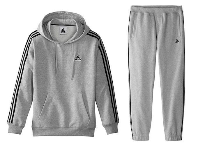 palace x adidas hoodie