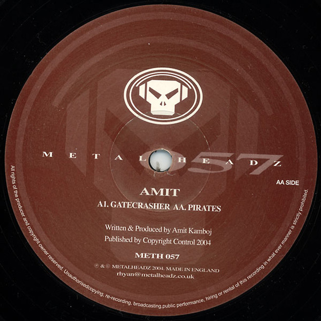 amit gatecrasher vinyl 25 Essential Metalheadz Tracks