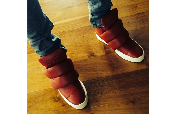 giuseppe zanotti high top sneakers inspired by kid cudi