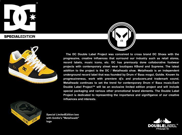 dc shoes metalheadz 10 Things You Didnt Know About Goldie