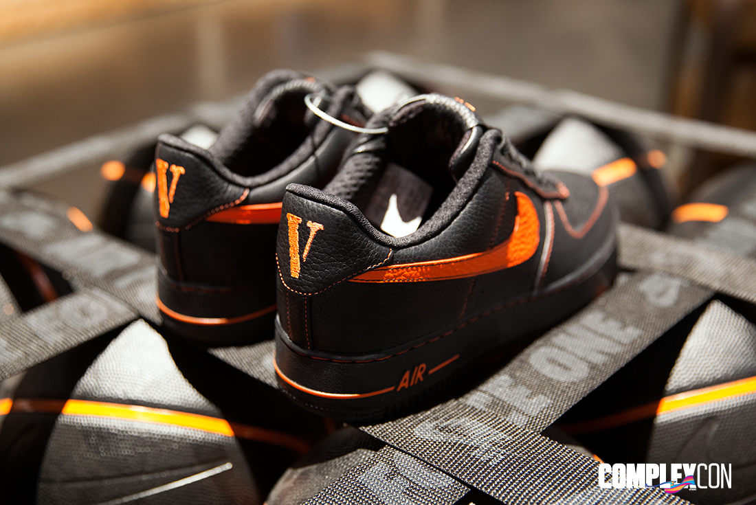 Vlone Nike Air Force 1 Heel
