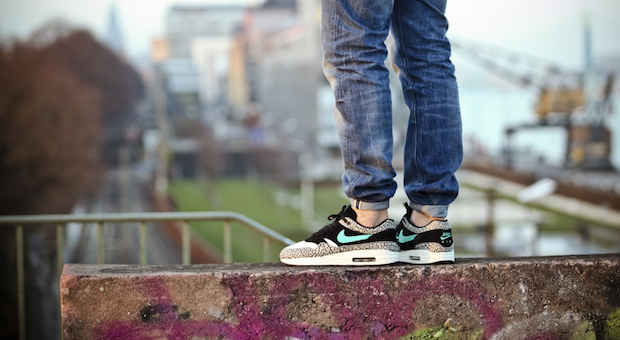 3ba1d1ded7a750 ... Black - Slickies Jogger Pants With Sneakers Jogger Pants in Sneaker  Culture