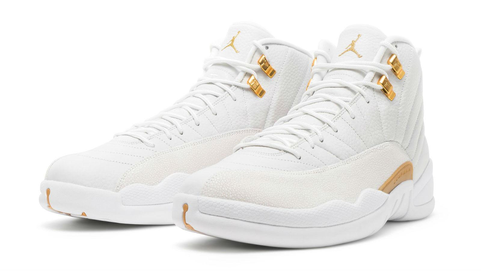 Air Jordan 12 12s Ovo Blanches