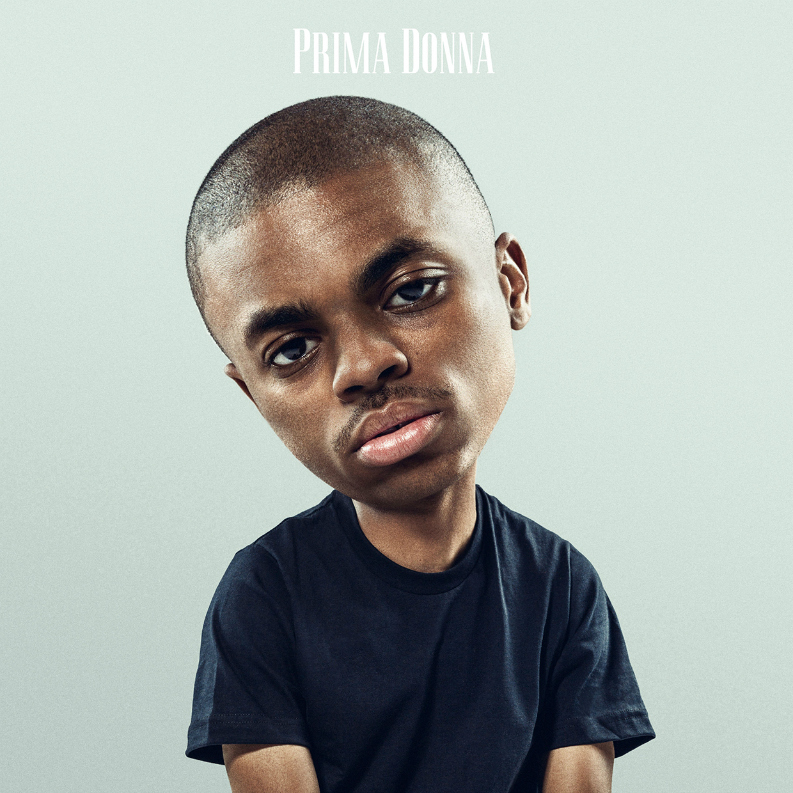 This is the cover for Vince Staples' 'Prima Donna' EP