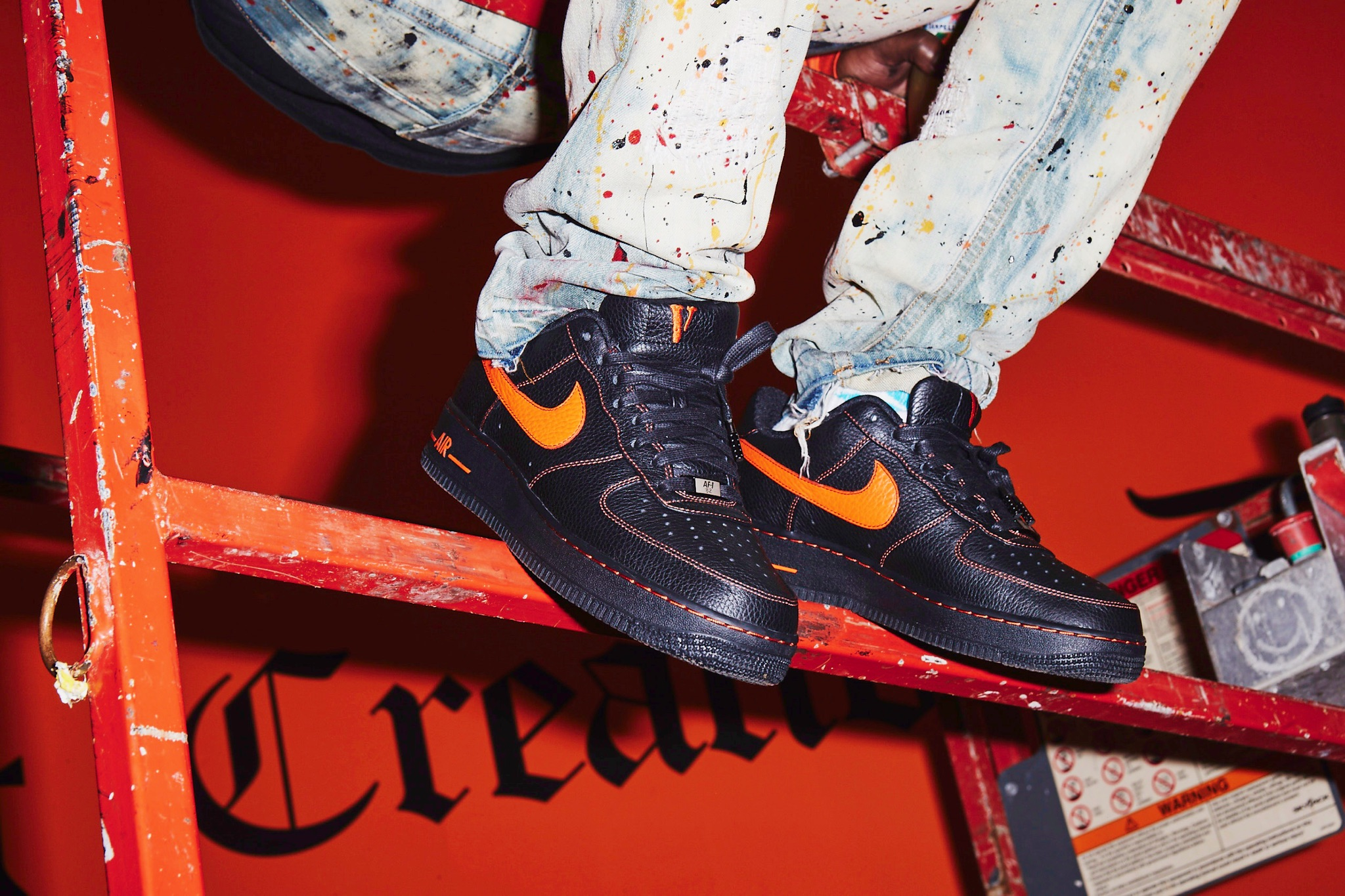 ASAP Bari Nike Air Force 1 3