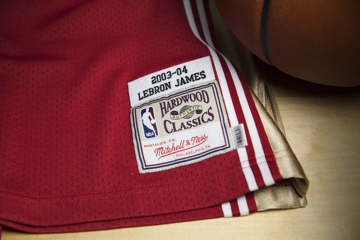 new product eb0c8 1f4a8 Mitchell & Ness LeBron James Rookie Jersey   Sole Collector