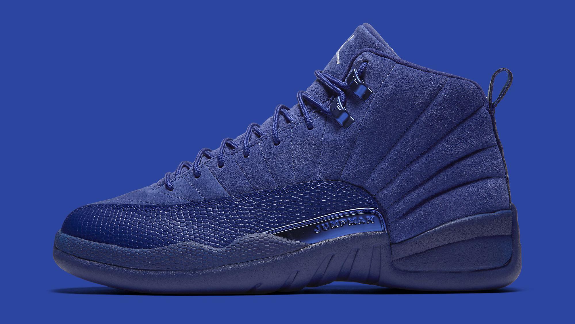 Blue Jordan 12 Profile