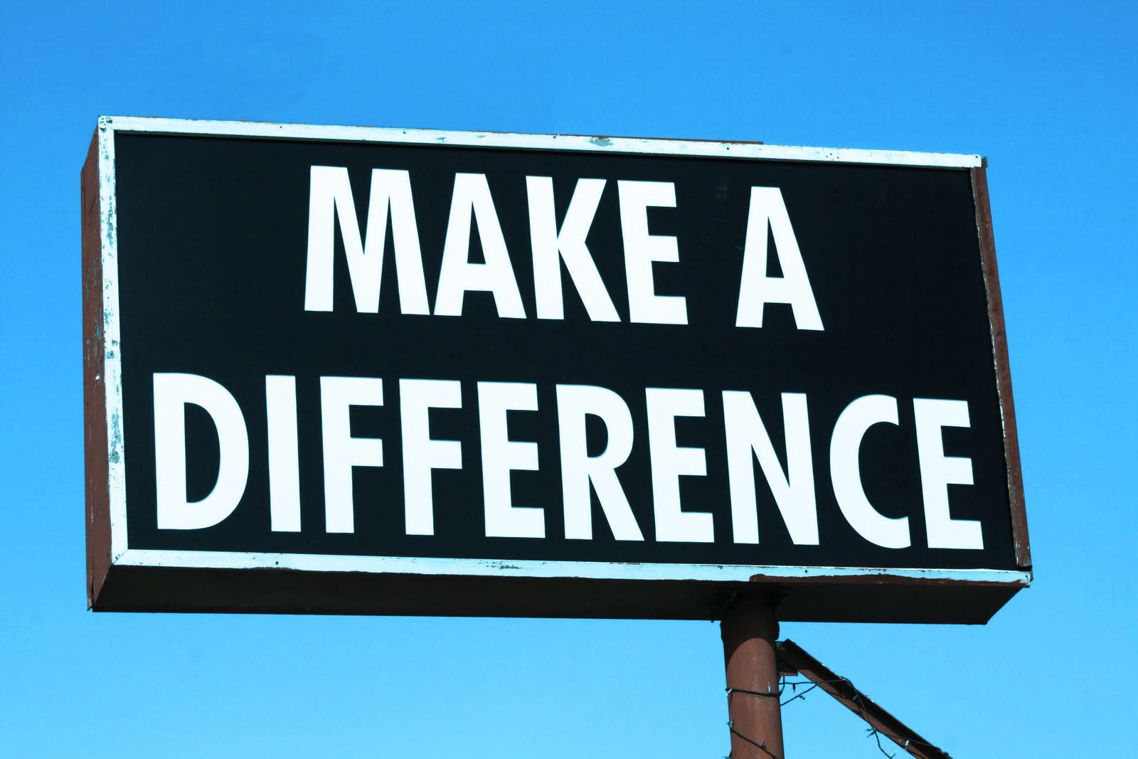 make a difference sign Commercialization Aint a Bad Word: Why EDM Going Mainstream is OK