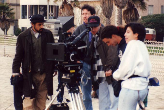 Doug Ellin directing Phat Beach