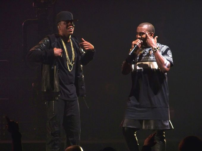 Kanye West and Jay Z on Watch the Throne Tour