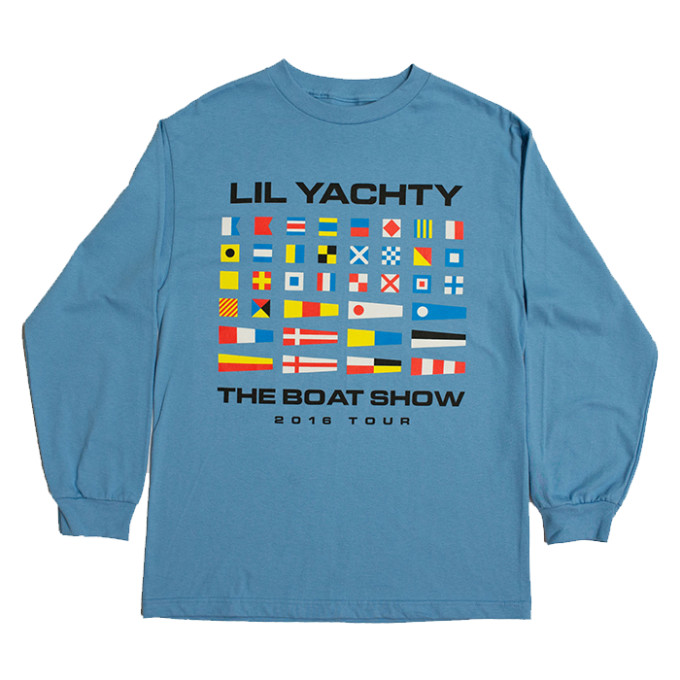Lil Yachty Merch, Blue Shirt