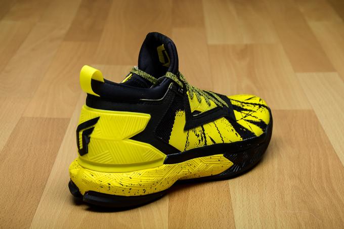 1bf86773fbad ... coupon adidas d lillard 2 black yellow heel b42354 e68cf 1de94