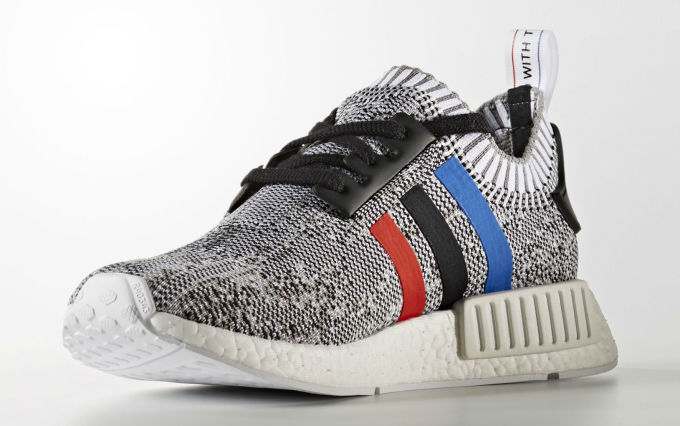 huge selection of f1d9f 35ba4 adidas NMD Primeknit Red, White & Blue Stripes | Complex