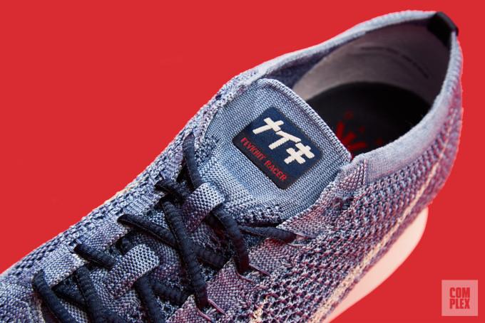 Nike Flyknit Racer Indigo 3