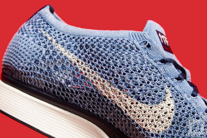 Nike Flyknit Racer Indigo 5