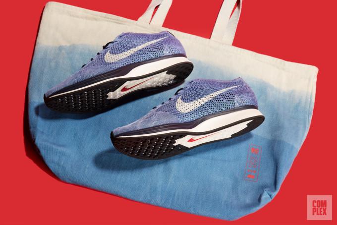 Nike Flyknit Racer Indigo 6