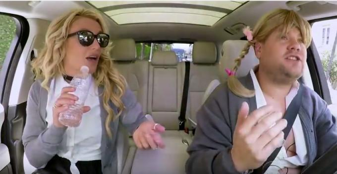 Carpool Karaoke baby one more time.